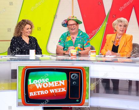 Nadia Sawalha, Timmy Mallet, Gloria Hunniford