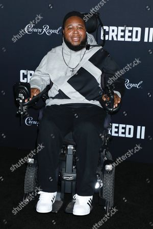 Editorial photo of 'Creed II' film premiere, Arrivals, New York, USA - 14 Nov 2018