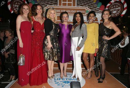 Sarah Drew, Rachel Boston, Megan Hilty, Melissa Joan Hart, Toni Braxton, Tiya Sircar, Bethany Joy Lenz