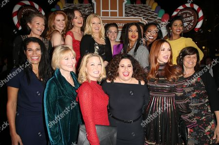 Editorial image of Gingerbread House Experience, Los Angeles, USA - 14 Nov 2018