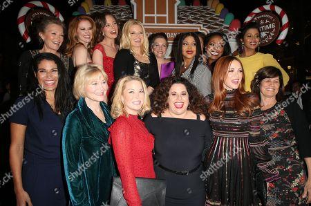 Cheryl Ladd, Sarah Drew, Rachel Boston, Megan Hilty, Melissa Joan Hart, Toni Braxton, Tiya Sircar, Bethany Joy Lenz, Jordan Ladd, Marissa Jarret Winokur, Dee Wallace