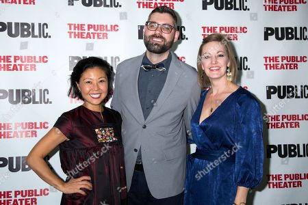 Editorial picture of 'Wild Goose Dreams' play opening night, New York, USA - 14 Nov 2018
