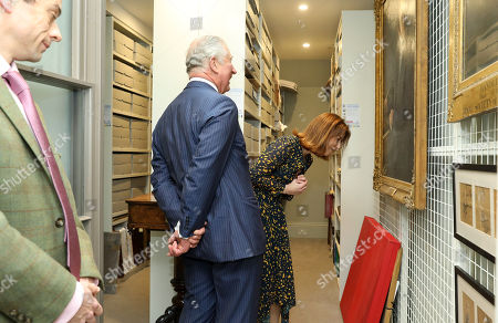 Prince Charles during a visit to The Royal Society of Musicians of Great Britain