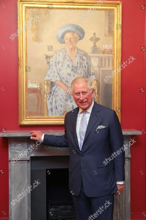 Prince Charles visits The Royal Society Of Musicians Of Great Britain, London
