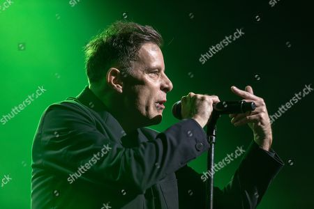 Ricky Ross from Scottish pop rock band Deacon Blue performs in Dublin's Olympia Theater.