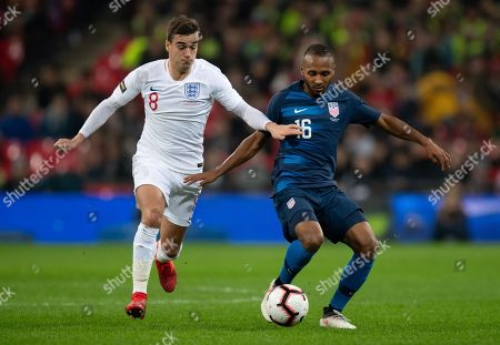 Editorial image of England v USA, International Friendly match, Football, Wembley Stadium, London, UK - 15 Nov 2018