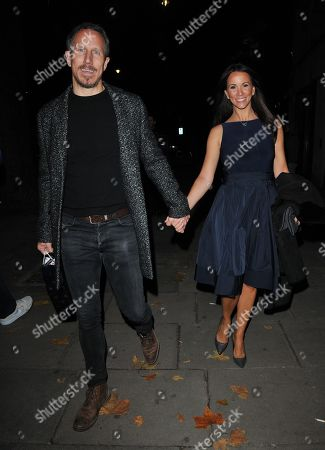 Nick Feeney and Andrea McLean
