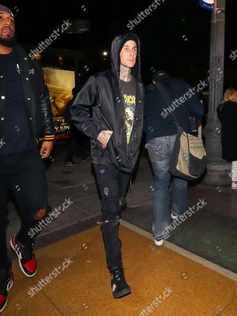 Travis Barker out and about, Los Angeles