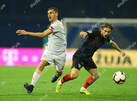 Croatia v Spain