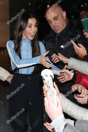 Cheryl out and about, London