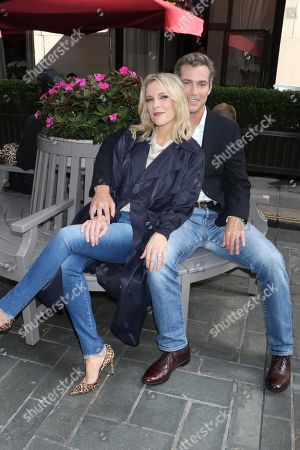Stock Photo of Megyn Kelly and Douglas Brunt