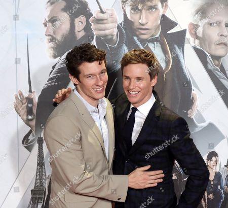 'Fantastic Beasts: The Crimes of Grindelwald' film premiere, Madrid