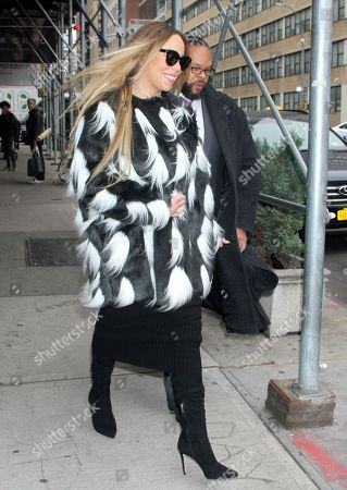 Mariah Carey out and about, New York