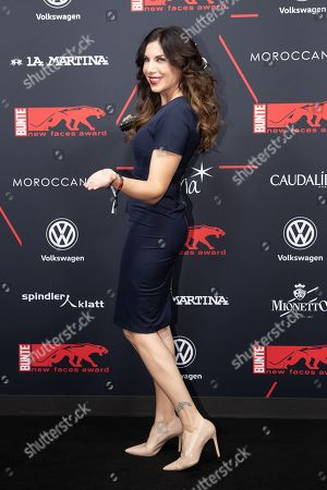 Stock Photo of Alexandra Polzin arrives for the New Faces Award 2018 ceremony in Berlin, Germany, 15 November 2018. The New Faces Award is a young talent prize that has been presented by the German weekly Bunte since 1998.