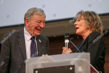 Lord Alf Dubs and Esther Rantzen
