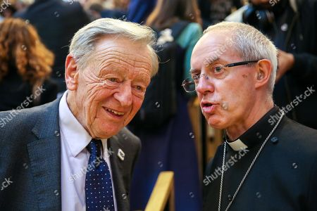 Lord Alf Dubs and Justin Welby - Archbishop of Canterbury