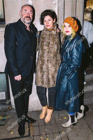 James Lawler, Roxanna Halls and Pam Hogg