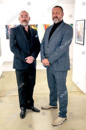 Editorial photo of Peter Ashworth's 'Mavericks' exhibition, Lever Gallery, London, UK - 15 Nov 2018