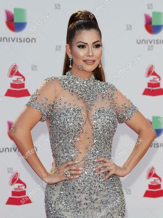 Editorial image of Arrivals - 2018 Latin Grammy Awards, Las Vegas, USA - 15 Nov 2018