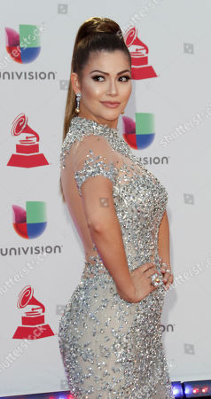 Editorial photo of Arrivals - 2018 Latin Grammy Awards, Las Vegas, USA - 15 Nov 2018