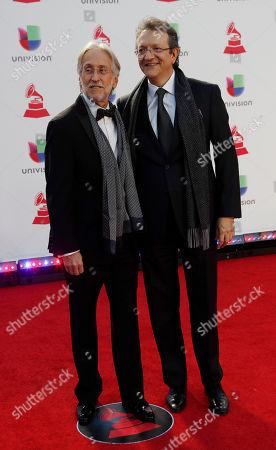 Neil Portnow (L) and Gabriel Abaroa (R)
