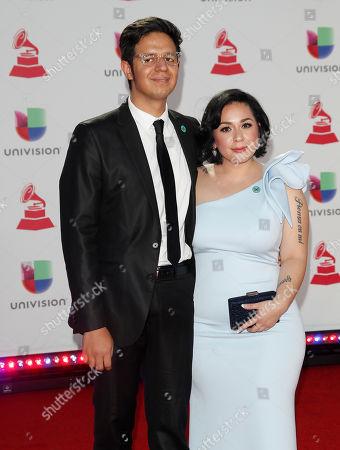 Carla Morrison (R) and Alejandro Jimenez (L)