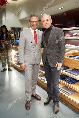 Gianluca Isaia and Bill Prince