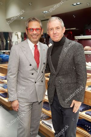 Stock Picture of Gianluca Isaia and Bill Prince