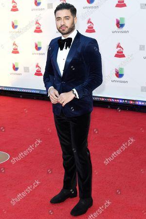Editorial image of Latin Grammy Awards, Arrivals, Las Vegas, USA - 15 Nov 2018