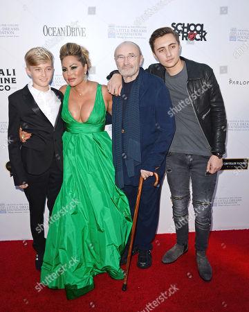 Matt Collins, Orianne Collins, Phil Collins, Nic Collins