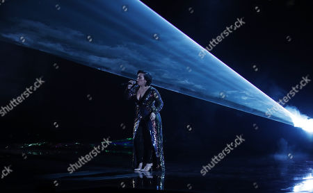 Carla Morrison performs during the 19th Annual Latin Grammy Awards ceremony at the MGM Grand Garden Arena in Las Vegas, Nevada, USA, 15 November 2018. The Latin Grammy Awards recognize artistic and/or technical achievement, not sales figures or chart positions, and the winners are determined by the votes of their peers, the qualified voting members of the academy.