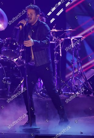 Pablo Alboran performs during the 19th Annual Latin Grammy Awards ceremony at the MGM Grand Garden Arena in Las Vegas, Nevada, USA, 15 November 2018. The Latin Grammy Awards recognize artistic and/or technical achievement, not sales figures or chart positions, and the winners are determined by the votes of their peers, the qualified voting members of the academy.