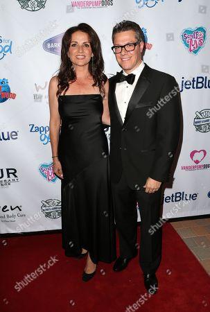 Stock Photo of Jenni Pulos and Jonathan Nassos