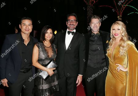 Mario Lopez, Courtney Mazza, Lawrence Zarian, Slade Smiley and Gretchen Rossi