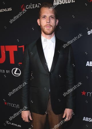 Stock Photo of Adrian Salpeter attends the OUT Magazine's OUT100 Celebration Presented by Lexus, held at Quixote Studios, West Hollywood, California, USA - 15 Nov 2018