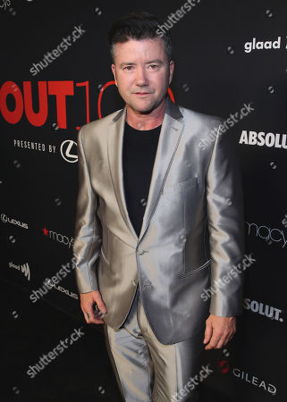 Silas Howard attends the OUT Magazine's OUT100 Celebration Presented by Lexus, held at Quixote Studios, West Hollywood, California, USA - 15 Nov 2018