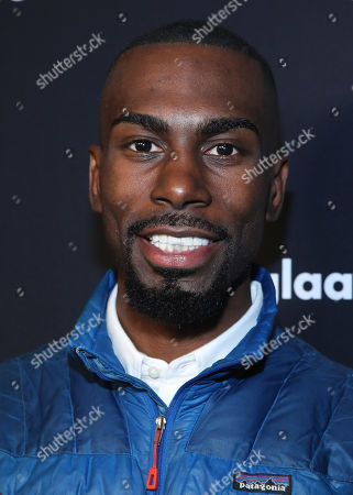 DeRay Mckesson attends the OUT Magazine's OUT100 Celebration Presented by Lexus, held at Quixote Studios, West Hollywood, California, USA - 15 Nov 2018