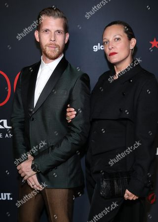 Stock Picture of Adrian Salpeter attends the OUT Magazine's OUT100 Celebration Presented by Lexus, held at Quixote Studios