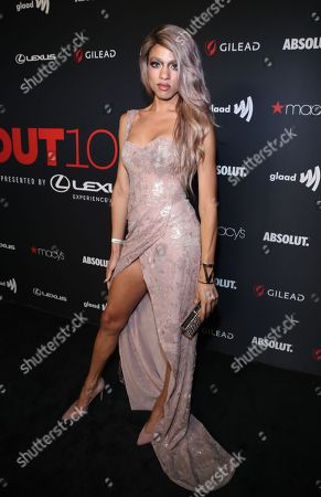 Editorial picture of OUT Magazine's OUT100 Celebration Presented by Lexus, Los Angeles, USA - 15 Nov 2018