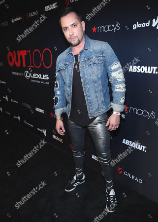 Stock Picture of Baby Yors attends the OUT Magazine's OUT100 Celebration Presented by Lexus, held at Quixote Studios, West Hollywood, California, USA - 15 Nov 2018