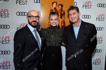 Peter Kujawski, Chairman, Focus Features, Margot Robbie, Tom Bevan, Producer,