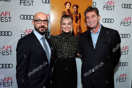 Stock Image of Peter Kujawski, Chairman, Focus Features, Margot Robbie, Tom Bevan, Producer,