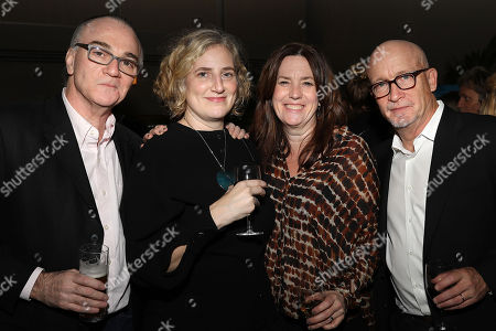 Stock Photo of Eamonn Bowles (Pres; Magnolia Pictures), Stacey Offman (Producer), Molly Thompson, Alex Gibney (Executive Producer)