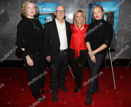 Stock Photo of Stacey Offman (Producer), Alex Gibney (Executive Producer), Alisyn Camerota and Alexis Bloom (Director)