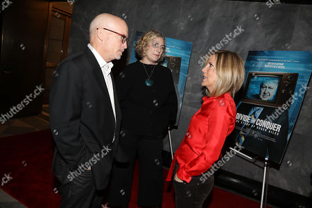 Stock Picture of Alex Gibney (Executive Producer), Stacey Offman (Producer) and Alisyn Camerota