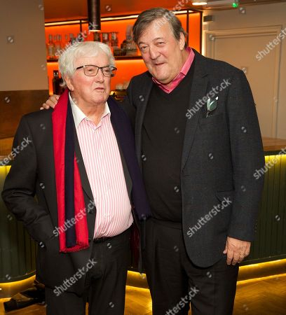 Leslie Bricusse and Stephen Fry