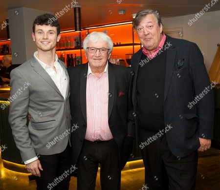 Stock Picture of Charlie Stemp, Leslie Bricusse & Stephen Fry