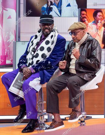 """Otis Williams and Abdul """"Duke"""" Fakir"""