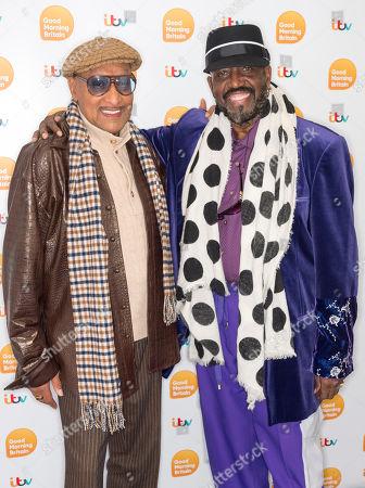 """Abdul """"Duke"""" Fakir and Otis Williams"""