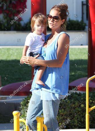 Brooke Burke with Shaya Braven